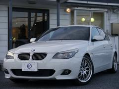 BMW525iMスポーツ後期 ヒーター黒革 スマートキー 2年保証