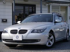 BMW525iツーリングハイライン 1オナ 後期 サンR 2年保証