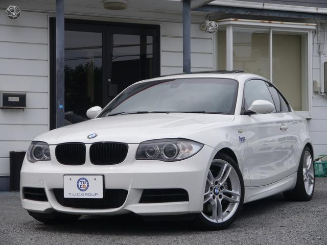 BMW 135i クーペ Mスポーツ サンR ヒーター黒革 2年保証