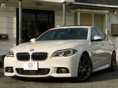 BMW528i Mスポーツ 後期1オナACCSR革BBS 2年保証
