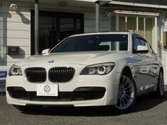 BMW740i Mスポーツ プラスP 1オナ SR 黒革 2年保証