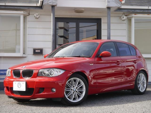 BMW 130iMスポーツ 後期最終 黒革 新iドライブ 2年保証