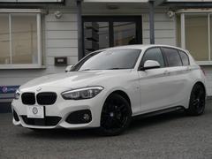 BMW118iMSPEDシャドー 1オーナ ACC 本革 新車保証