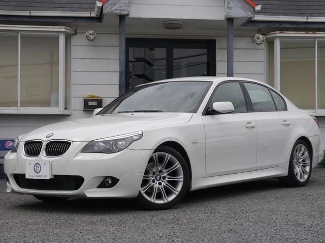 BMW 525iMSP 後期 スマートキー 半革 電子シフト2年保証