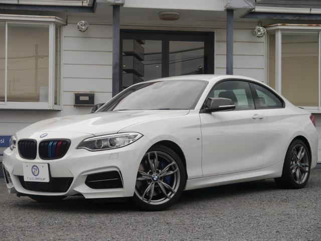 BMW M235iクーペ 6速MT Dアシスト 黒革 iスト2年保証