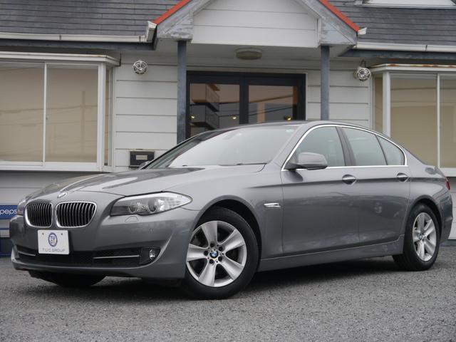 BMW 528i 1オ-ナー 直6EG 黒革 フルセグTV 2年保証
