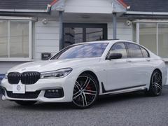 BMW740i Mスポーツ サンR ACC HUD 黒革 新車保証