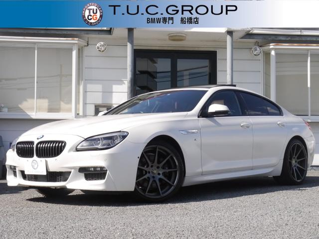 BMW 640iグランCP Mスポ ACC マット白 SR 2年保証