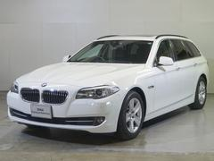 BMW528iツーリング ブラックレザー サンルーフ 全国保証