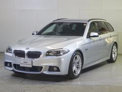 BMW523iツーリング Mスポーツ 純正HDDナビ・全国保証