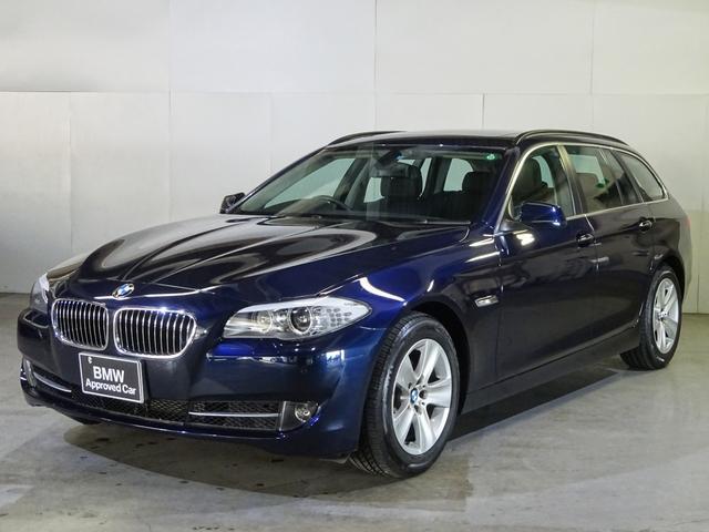 BMW 528iツーリング シルキーシックス ブラックレザー