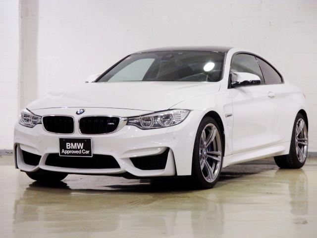 BMW M4クーペ MT 左H 最長4年保証加入可能 全国保証