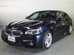 BMW528i Mスポーツ 左H サンルーフ レーンチェンジ 液晶
