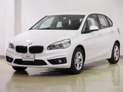 BMW218dアクティブツアラー バックカメラ タッチパネルナビ