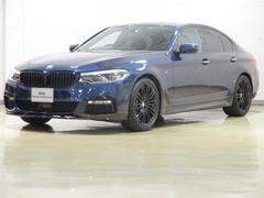 BMW523i Mスポーツ レザー Mパフォマーンスパーツ新規取付