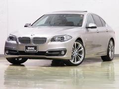 BMW523d モダン HDDナビ サンルーフ 衝突軽減 後期