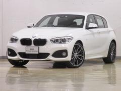 BMW118d Mスポーツ レザー ACC LED 登録済未使用車
