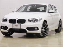 BMW118d スポーツ スマートキー ACC 登録済未使用車