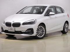 BMW218dアクティブツアラー ブラックレザー タッチパネルナビ