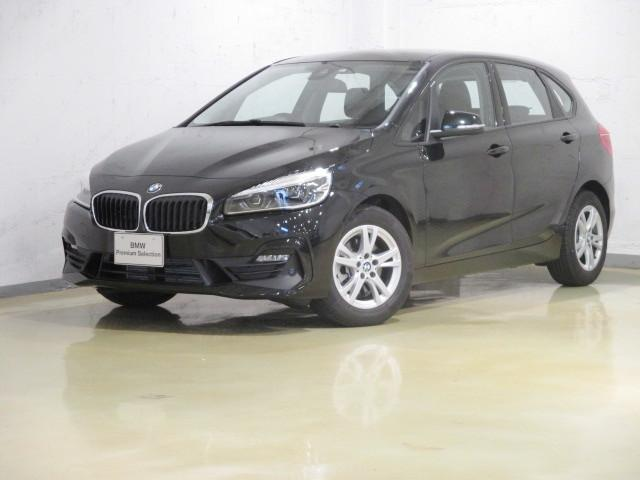 BMW 218dアクティブツアラー 自動駐車 LED タッチパネル