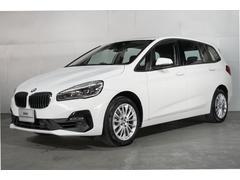 BMW218iグランツアラー タッチパネルナビ ACC