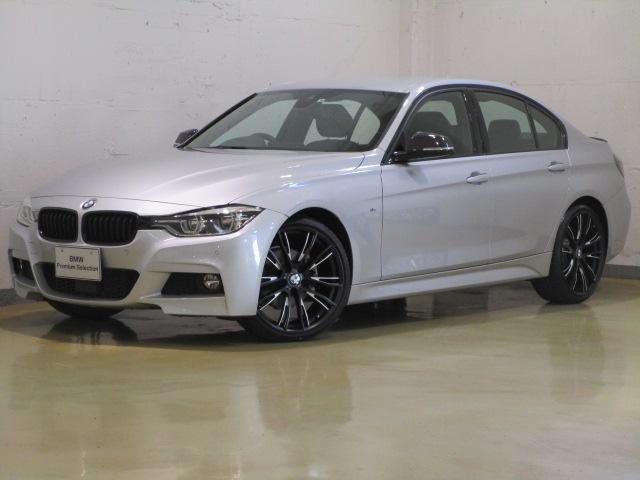 BMW 320d Mスポーツ 純正新品パフォーマンスパーツ装着車両