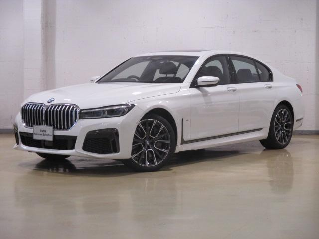 BMW 750i xDrive Mスポーツ ACC レーザーライト サンルーフ ブラックレザー マッサージ