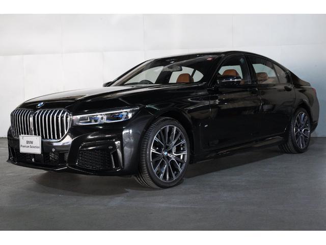 BMW 740d xDrive Mスポーツ LCIモデル4WD コニャックレザー レーザーライト ガラスサンルーフ BMWライブコクピット