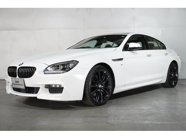 BMW 6シリーズ 640iグランクーペ Mスポーツ 20インチブラックホイール ガラスサンルーフ ACC衝突軽減 ヘッドアップ ホワイトウッドパネル