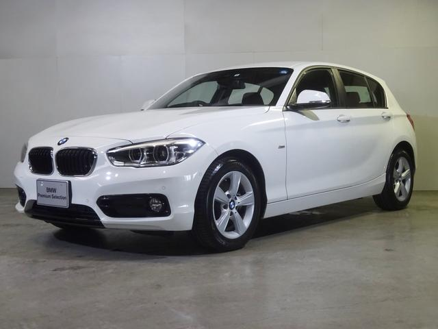 BMW 1シリーズ 118i スポーツ 認定中古車 リアビューカメラ