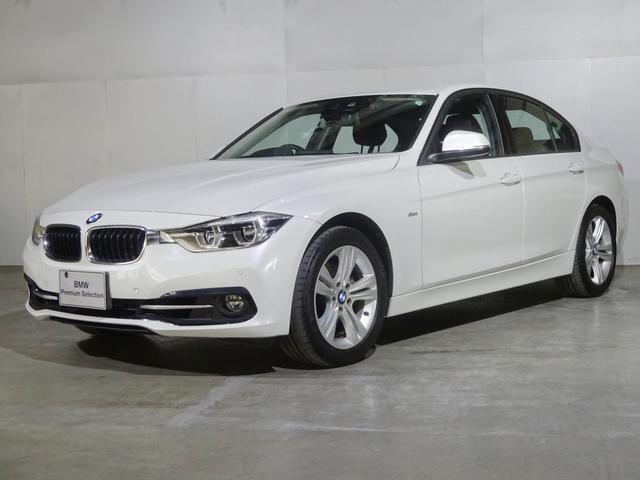 BMW 318iスポーツ タッチパネルナビ 衝突軽減