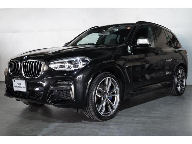 BMW X3 M40d ブラックレザーシート セレクトパッケージ スライディングルーフ 21インチアロイホイール