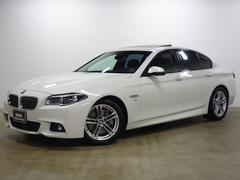 BMW528i Mスポーツ 18AW 黒革 ACC SR 地デジ