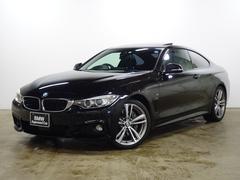 BMW435iクーペ Mスポーツ 19AW 黒革 電動ガラスSR
