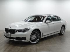 BMW750i 20AW LED ガラスSR 黒革 全周囲カメラ