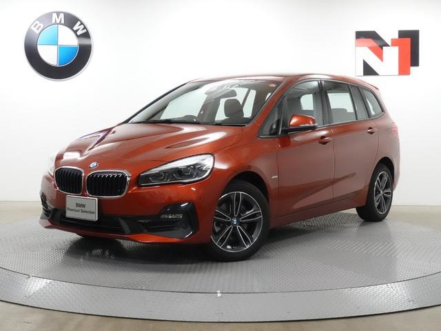 BMW 2シリーズ 218dグランツアラー スポーツ 17インチAW アクティブクルーズコントロール Rカメラ FRセンサー HUD LED 衝突軽減 車線逸脱 USB端子