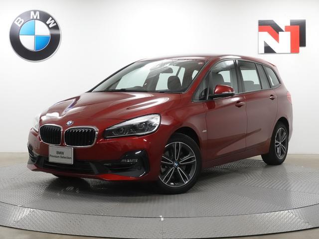 BMW 2シリーズ 218iグランツアラー スポーツ 17インチAW Rカメラ FRセンサー LEDヘッドライト Fシートヒーター 電動リヤゲート 衝突軽減 車線逸脱 USB