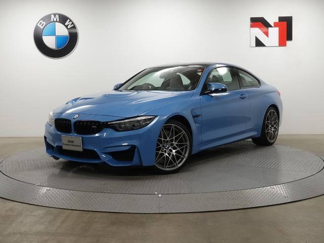BMW M4 M4クーペ コンペティション 20インチAW クルーズコントロール パドルシフト ヘッドアップディスプレイ LED FRセンサー Rカメラ 衝突軽減 車線逸脱 専用軽量Mスポーツシート Harman/Kardon