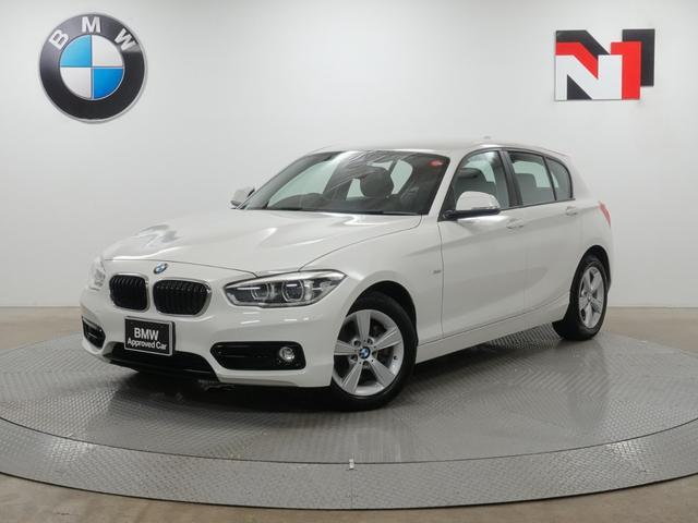 BMW 118i スポーツ 16インチAW コンフォートパッケージ クルーズコントロール Rカメラ FRセンサー LED 衝突軽減 車線逸脱 USB