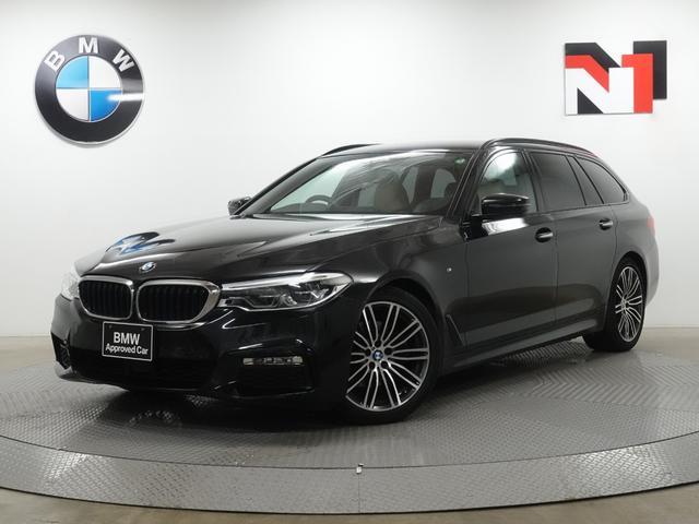 BMW 523dツーリング Mスポーツ 19インチAW キャンベラベージュ内装 アクティブクルーズコントロール Rカメラ LED 衝突軽減 車線逸脱 USB