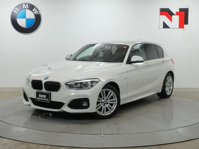 BMW 118d Mスポーツ 17インチAW クルーズコントロール Rカメラ FRセンサー LED 衝突警告 車線逸脱 USB LEDフォグランプ