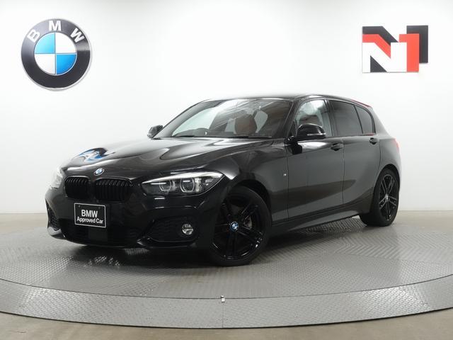 BMW 118d Mスポーツ エディションシャドー 18インチAW コニャックレザー内装 アクティブクルーズコントロール Rカメラ FRセンサー LED 衝突警告 車線逸脱 USB