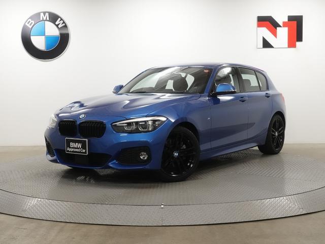BMW 118d Mスポーツ エディションシャドー 18インチAW アクティブクルーズコントロール ブラックレザー内装 Rカメラ FRセンサー LED 衝警告減 車線逸脱 USB