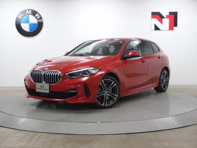 BMW 118i Mスポーツ 18インチAW ハイラインパッケージ アクティブクルーズコントロール Rカメラ FRセンサー LED 衝突軽減 車線逸脱 USB オートマチックテールゲートオペレーション