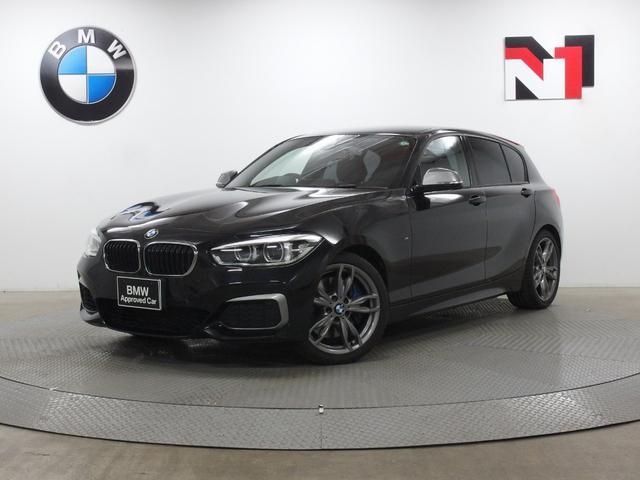 BMW M140i 18インチAW ブラックレザー内装 クルーズコントロール パドルシフト Rカメラ FRセンサー LED 衝突警告 車線逸脱 USB