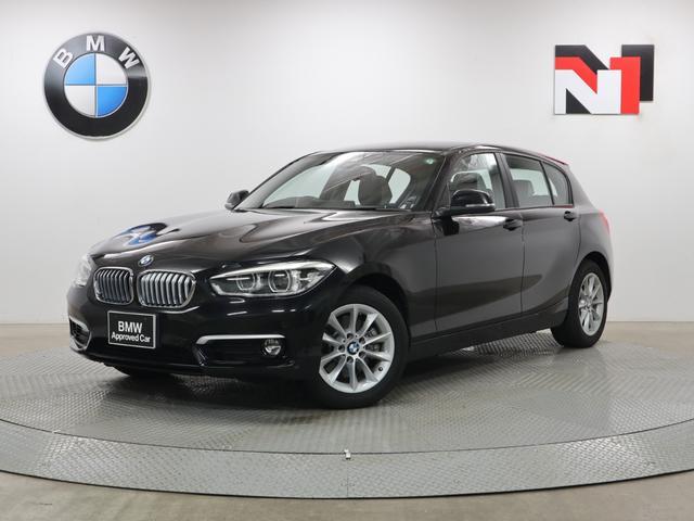 BMW 118d スタイル 16インチAW コンフォートパッケージ クルーズコントロール Rカメラ FRセンサー LED 衝突軽減 車線逸脱 USB パーキングサポートパッケージ