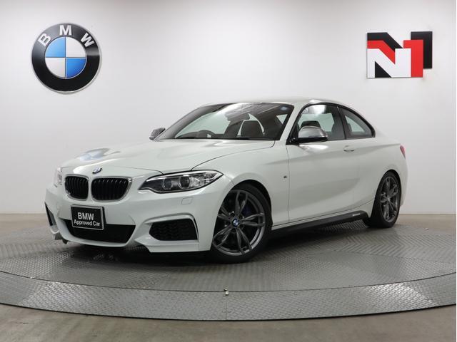 BMW 2シリーズ M235iクーペ 18インチAW マニュアルトランスミッション車 Rカメラ Rセンサー キセノン 衝突軽減 車線逸脱 USB