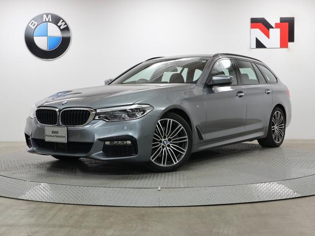 BMW 523iツーリング Mスポーツ 19インチAW アクティブクルーズコントロール パドルシフト Rカメラ FRセンサー LED 衝突軽減 車線逸脱 USB コンフォートアクセス 純正フルセグ地デジチューナー 電動リヤゲート