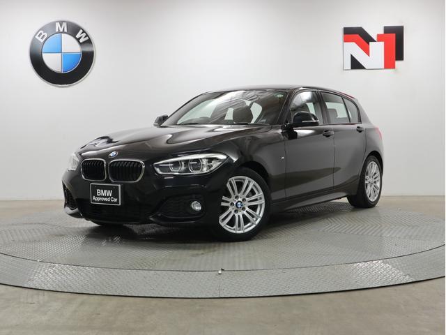 BMW 118i Mスポーツ 17インチAW 純正HDDナビゲーション クルーズコントロール Rカメラ LED 衝突軽減 車線逸脱 USB