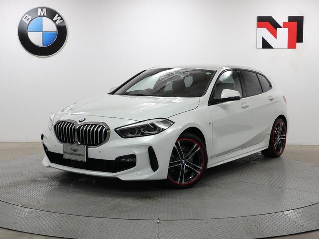 BMW 118i Mスポーツ 18インチAW コンフォートパッケージ アクティブクルーズコントロール パーキングアシスト LED Rカメラ FRセンサー 衝突軽減 車線逸脱 USB ストレージパッケージ